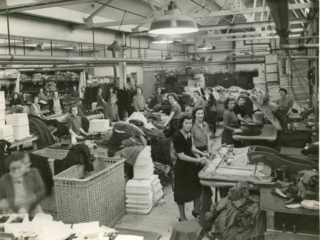 History of Martha Hill - Leicester clothes factory 1938