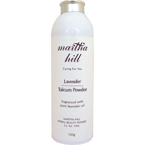 Martha Hill Lavender Talcum Powder